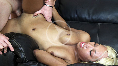 Sharea Lays On Her Back And Is Screwed Deep